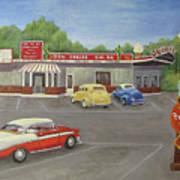 Don Carlos Drive Inn Art Print