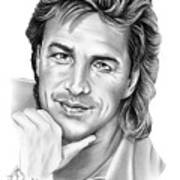 Don Johnson Art Print