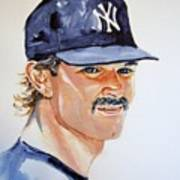 Don Mattingly Art Print