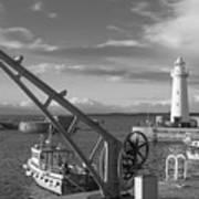 Donaghadee Fishing Wharf Art Print
