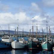 Donegal Fishing Port Art Print