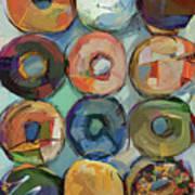 Donuts Galore Art Print