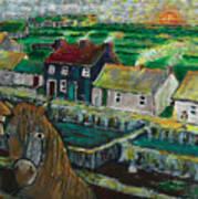 Doolin Ireland Sunset Art Print