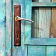 Door Handle Art Print by Carlos Caetano