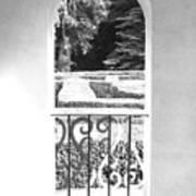 Door In The Labirinth Art Print
