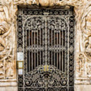 Door - Seville Spain Art Print