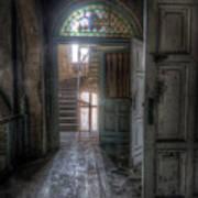 Door To Stairs Art Print
