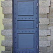 Door With No Handle Art Print