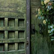 Door With Padlock Art Print by Bernard Jaubert