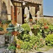 Little Paradise In Tuscany/italy/europe Art Print