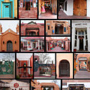 Doors Of Albuquerque Art Print