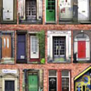 Doors Of England I Art Print