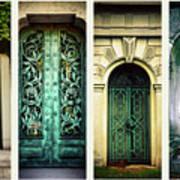 Doors Of Woodlawn Art Print