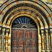 Doors To Holiness Art Print