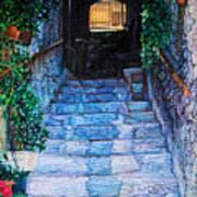Doorsteps Art Print