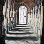 Doorway. Art Print