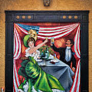 Doorway Mural Art Print