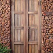 Doorway Steps Back In Time Art Print