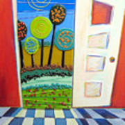 Doorway To Somewhere Art Print