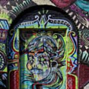 Doorway Wiiliamsburg Brooklyn Art Print