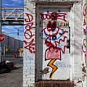 Doorway Willaimsburg Art Print