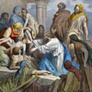 Dor�: Jesus Healing Sick Art Print