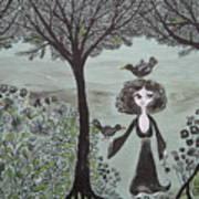 Ninas Garden Art Print