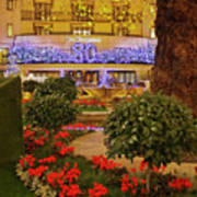 Dorchester Hotel London At Christmas Art Print
