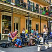 Doreen's Jazz New Orleans 2 Art Print