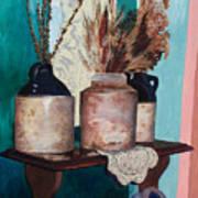Dorothy's Pots Art Print