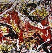 Dos Caballos Art Print