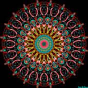 Dotted Wishes No. 4 Mandala Art Print