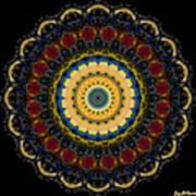 Dotted Wishes No. 6 Mandala Art Print