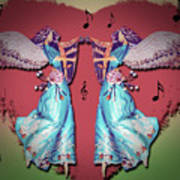 Double Angel Art Print
