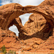 Double Arch - Arches National Park Utah Art Print
