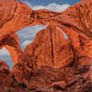 Double Arches At Arches National Park Art Print
