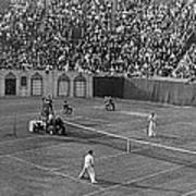 Doubles Tennis At Forest Hills Art Print