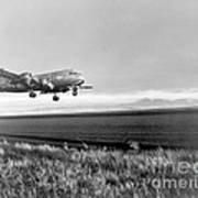 Douglas C-54 Skymaster, 1940s Art Print
