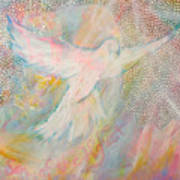 Dove Detail From Immaculate Conception Art Print