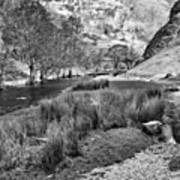 Dovedale, Peak District Uk Art Print