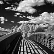 Dover Slough Bridge 1 Art Print