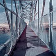 Down The Bridge Art Print