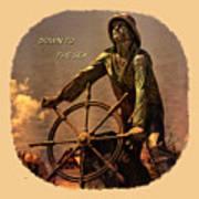 Down To The Sea 2 Art Print