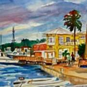 Down Town St Croix Art Print