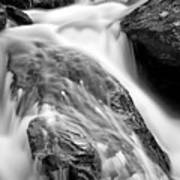 Downstream From Anna Ruby Falls Art Print