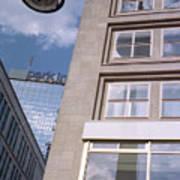 Downtown Berlin Art Print