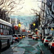 Downtown Art Print
