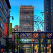 Downtown Color Art Print
