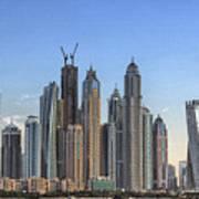 Downtown Dubai Art Print