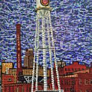 Downtown Durham Art Print